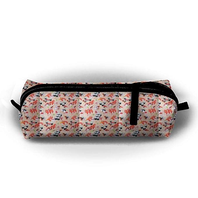 Estuche de tela japonesa con flores de cerezo, bolígrafo ...