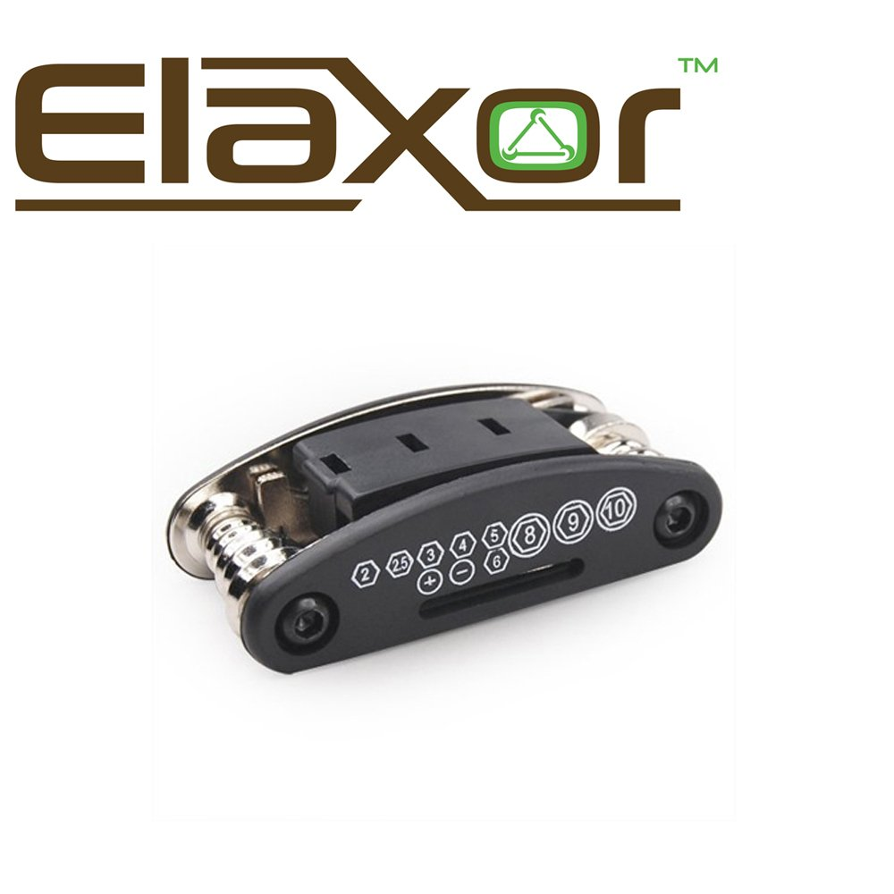 Elaxor™ 16-Multi Function Bike, Bicycle, Cycling Mechanic Tool Kit Set. For Repairing Bike Bicycle Fast, Easy & Efficient by Elaxor™ (Image #6)
