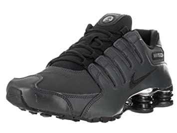 best authentic 97315 cd35a ... new zealand nike mens shox nz premium running shoes anthracite black  black cl grey 26aec 45d4e