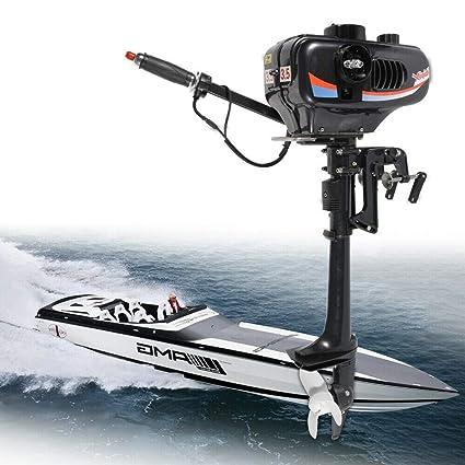 Amazon com : Outboard Motor, 3 5HP 2 Stroke Power Heavy Duty