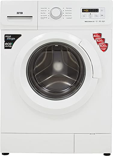 6KG IFB Fully-Automatic 5 Star Front Loading Washing Machine NEODIVA-VX, White, Inbuilt Heater