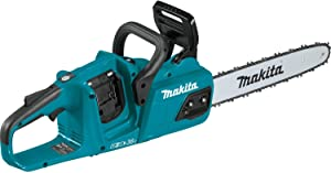 "Makita XCU07Z 18V X2 (36V) LXT Lithium-Ion Brushless Cordless 14"" Chain Saw, Tool Only, Teal"