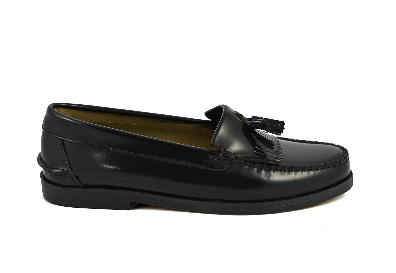 Conbuenpie by Sachini - Zapato Castellano Borlas Mujer Negro (EU37): Amazon.es: Zapatos y complementos