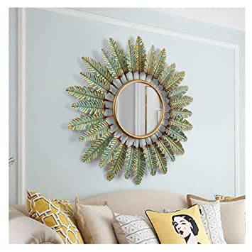 Amazon.com Round Wall Mirror Wall Mirrors for Living Room