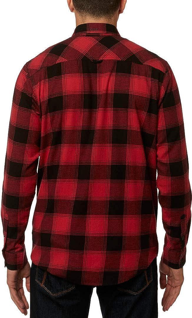 Fox Mens Longview Lighweight Stretch Flannel