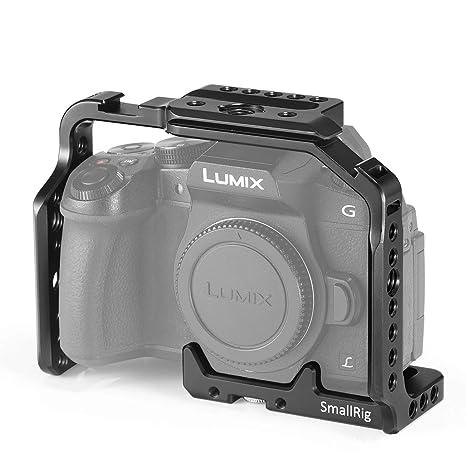 SMALLRIG Jaula Cage Actualizada para Panasonic Lumix DMC-G85 / G80 ...