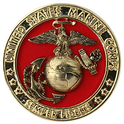 (US Marine Corps Emblem, Velvet Backing)