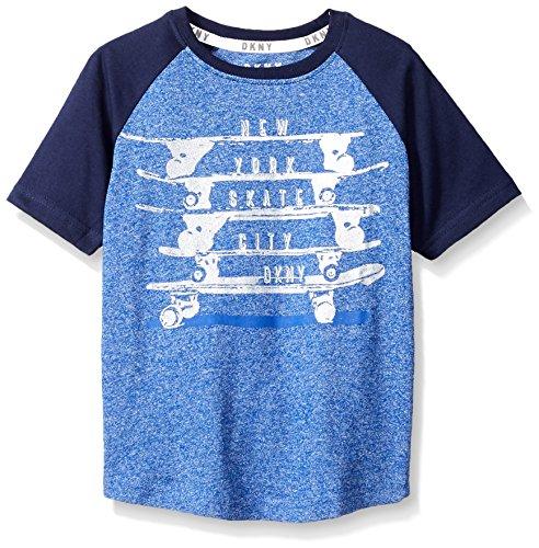 DKNY Boys Skate Boards Short Sleeve Crew Neck T-Shirt