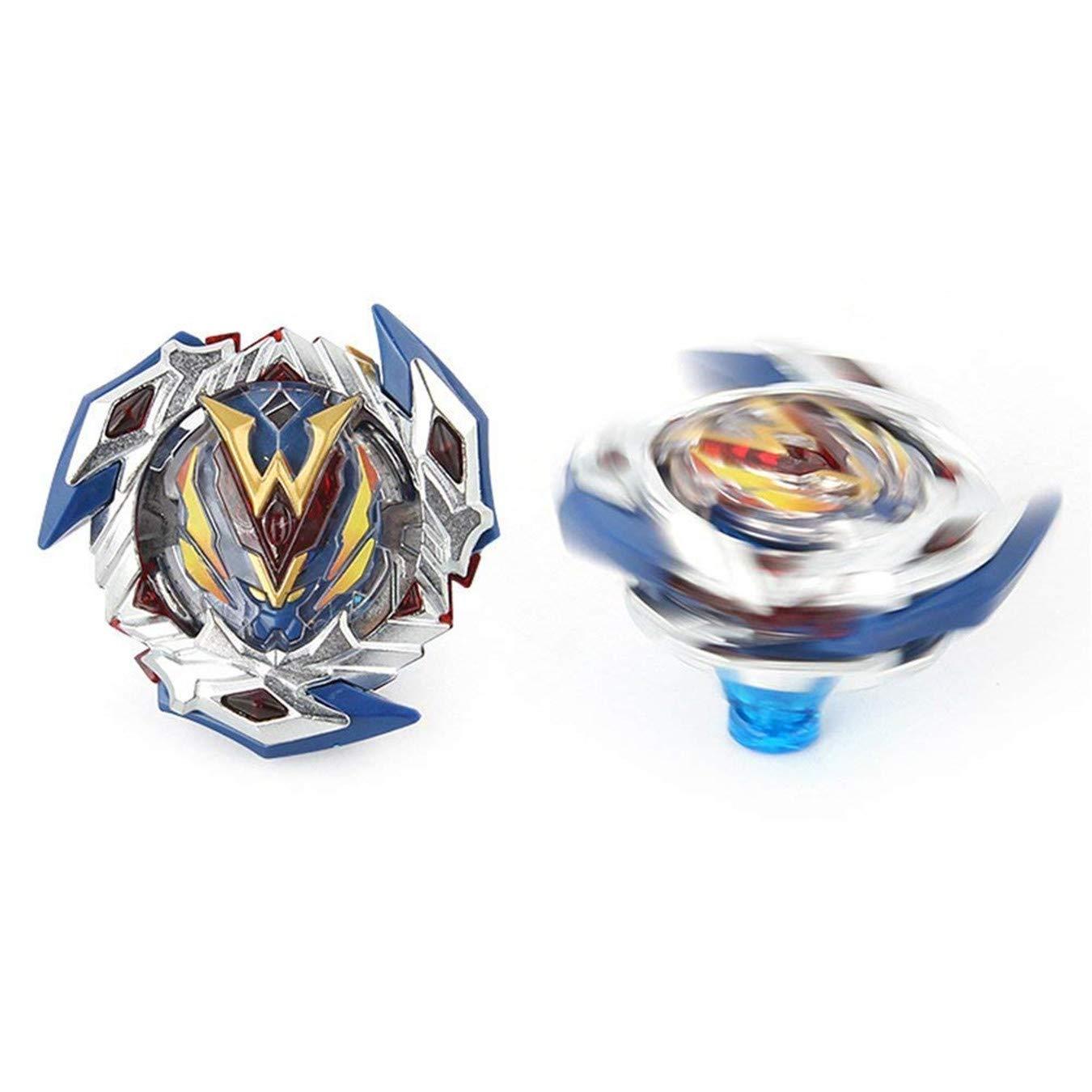 Queque Shine Set de Beyblade Lutte Ma/îtres Fusion Spinning Top Toupie Gyro M/étal Rapidit/é Jouet et Cadeaux Int/éressant pour Enfants B-00