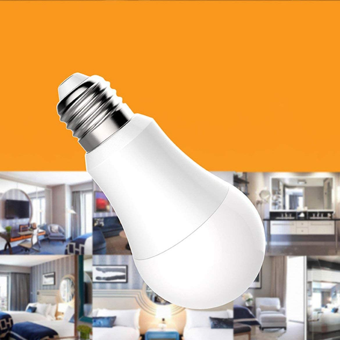 Pandamama Warm Light Remote Control Smart WiFi LED Light Bulb for  Voice Control Alexa Dimmable Lamp Bulb