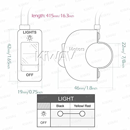 12v toggle switch wiring diagram for dirt late model wiring amazon com kiwav motorcycle black fog light switch 1 inch 25mm 12v toggle switch wiring diagram for dirt late model