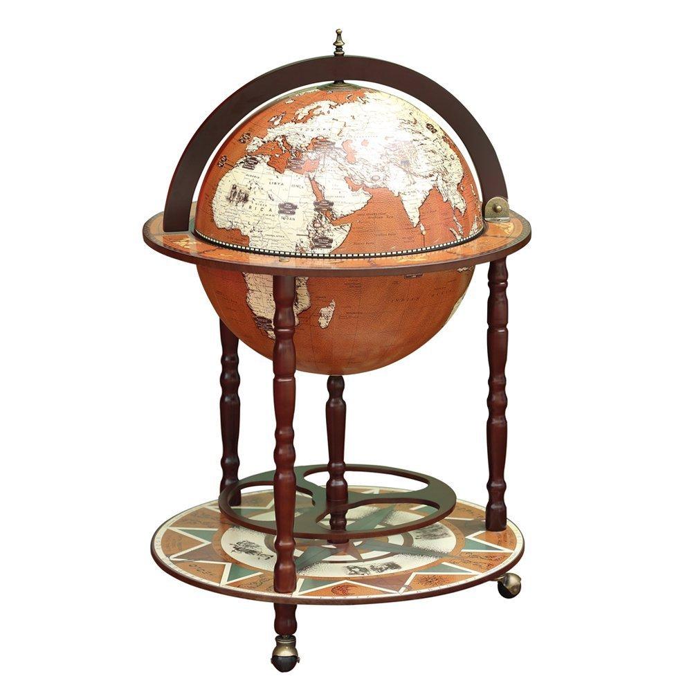 Sixteenth century italian replica 13 diameter old world map globe sixteenth century italian replica 13 diameter old world map globe wine bar ehomeproducts gumiabroncs Choice Image