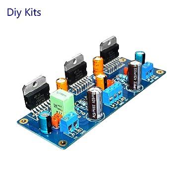 aoshike Dual DC 40 V 300 W TDA7293 paralelo triple Mono amplificador de potencia Junta BTL