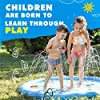 SplashEZ-USA-3-in-1-Splash-Pad-Sprinkler-for-Kids-and-Toddler-Pool-for-Learning–Childrens-Sprinkler-Pool-60-Inflatable-Water-Toys–Around-The-World-Outdoor-Kiddie-Pool-for-Babies-Toddlers