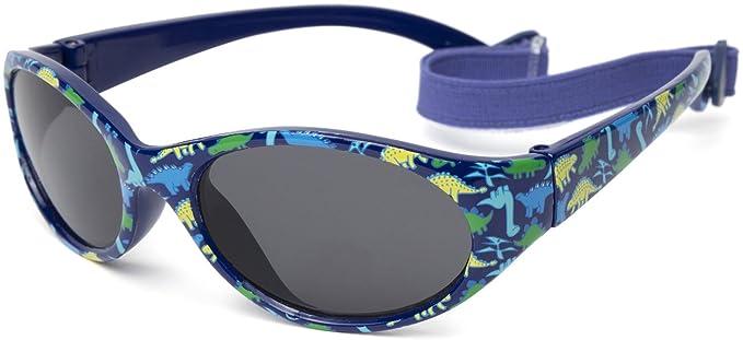 81c83c82af Kiddus Gafas de sol para niña niño entre 2 y 6 años, hecho de goma ...