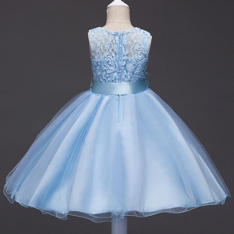 Amazon.com: IBTOM CASTLE Girls Kids Short Lace Tulle Tutu Dress ...