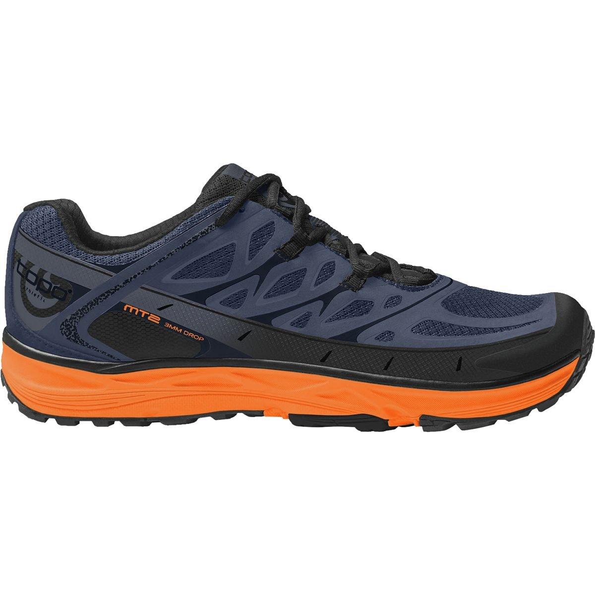 Topo Athletic mt2 Running Shoe – Men 's B07CGHWH9B 10.5 D(M) US Blue/Mango