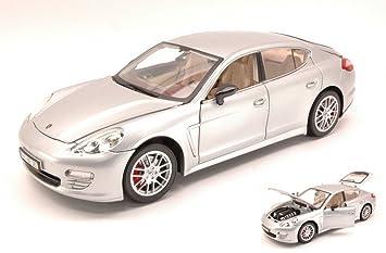 MZ Model MZ2017S Porsche Panamera 2013 Silver 1:18 MODELLINO Die Cast Model: Amazon.es: Juguetes y juegos
