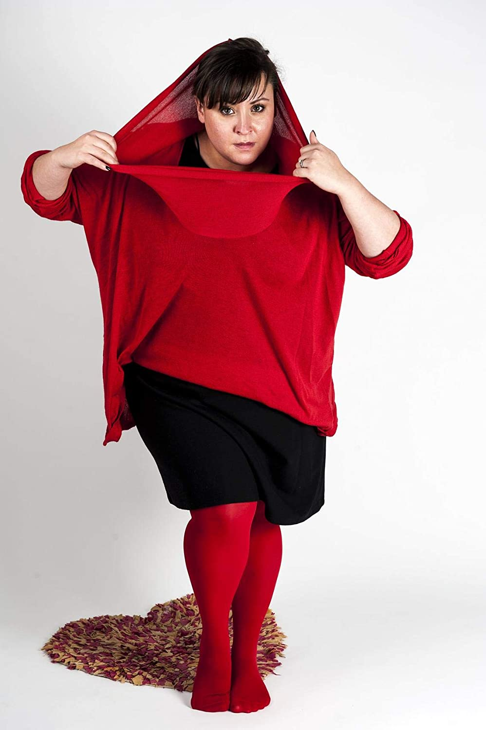 Red Tights Plus Size for women available from XL to5XL