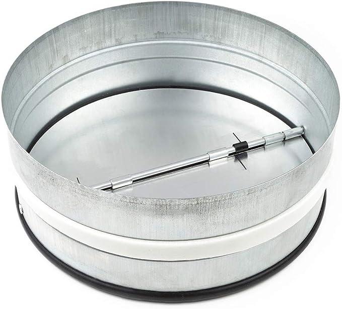 neverest RKI 150 mm Válvula Antirretorno Reduce el Ruido y Evita el Aire Frío por Tubo de Ventilación: Amazon.es: Bricolaje y herramientas