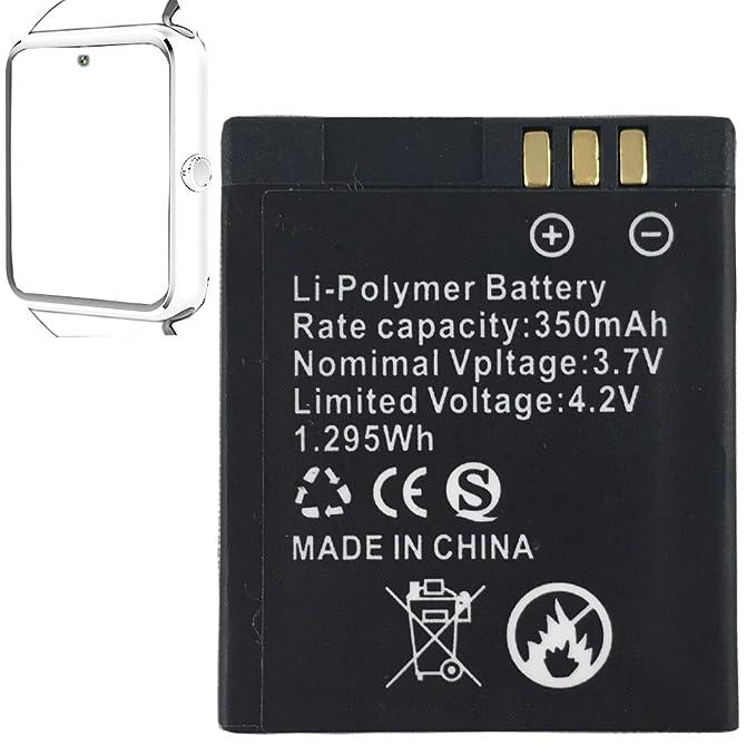 Batería recargable del litio de la batería GT08 del reloj elegante ...