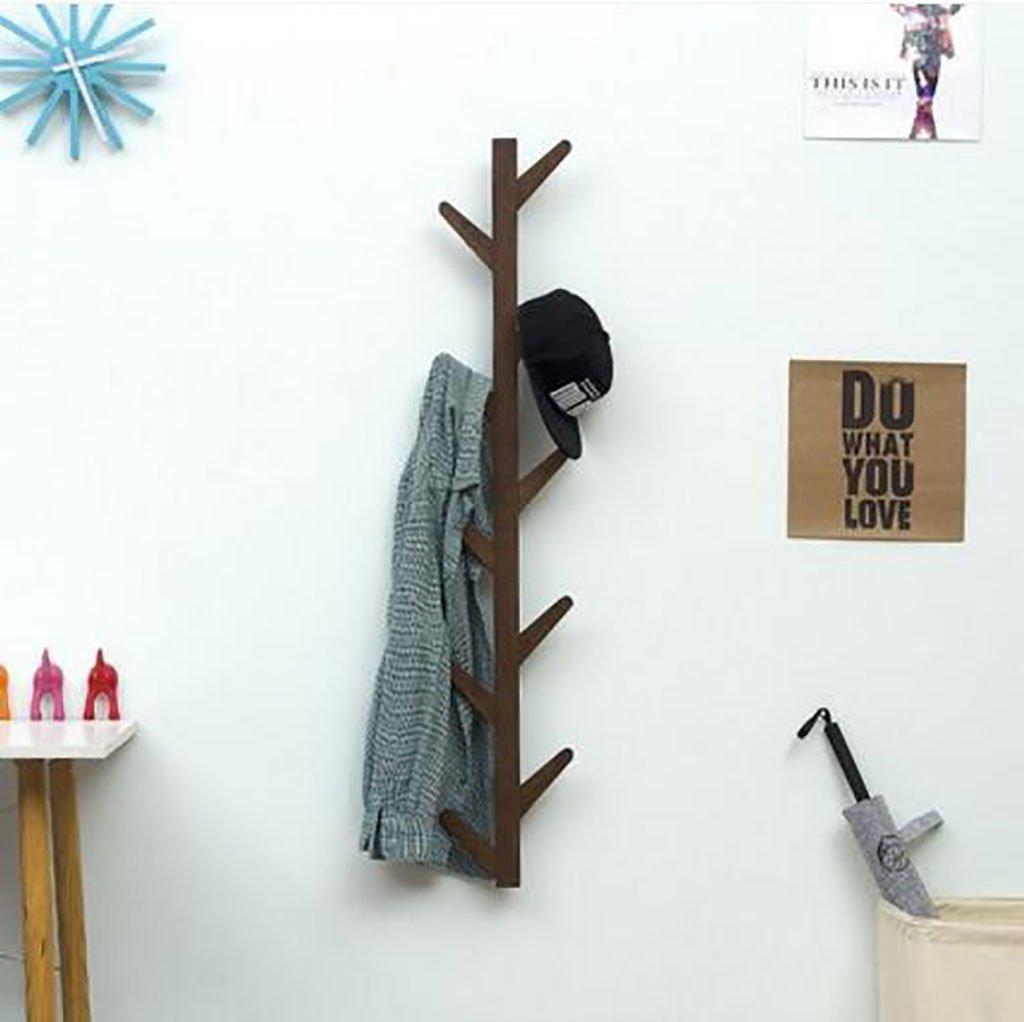 Ymj Coat Rack Garment Hanger Creative On The Wall Solid Wood Hook Hanger Bedroom Wall Living Room Wall Hanger Drying Racks (Color : B, Size : 72278cm) by Ymj (Image #5)