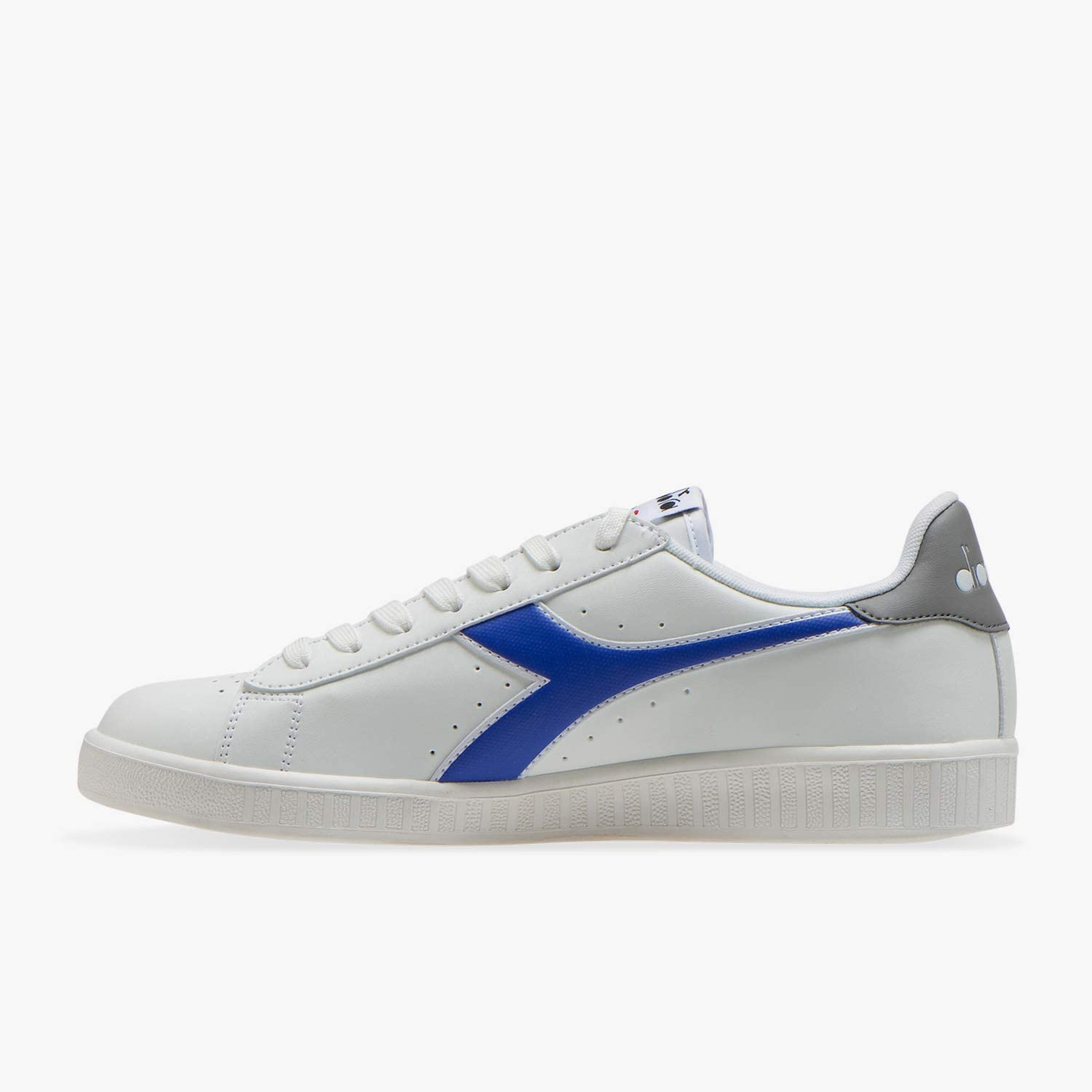 Diadora mannen spel P trainers C8215 Frost Gray Surf the Web