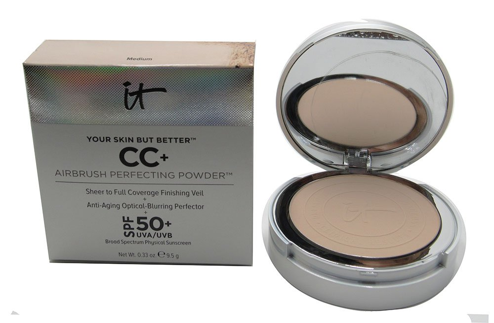 it Cosmetics CC+ Airbrush Perfecting Powder (Medium)