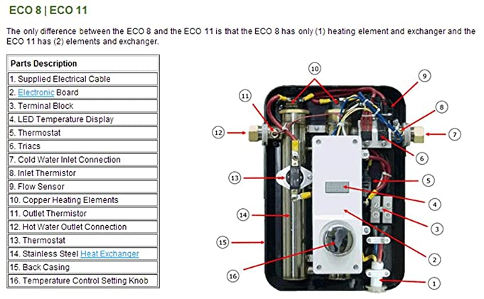 61PueVvFicL._SX681_ hot water heater wiring diagram for rheem rte 27 conventional rheem rete 27 wiring diagram at couponss.co