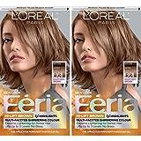 L'Oreal Paris Feria Permanent Hair Color, B61 Downtown Brown, 2 Count