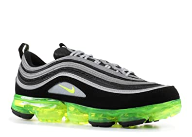 sneakers for cheap be2c5 a7863 NIKE Men s Air Vapormax 97, Black Volt-Metallic Silver, ...