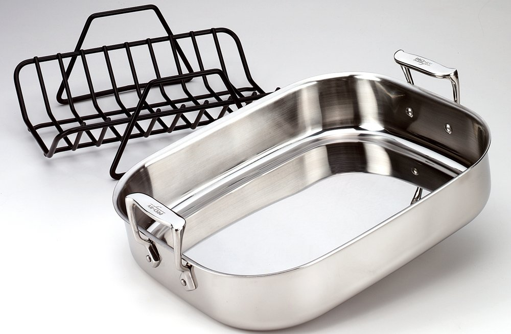 All Clad 3016 Nonstick Roasting Rack 14 By 12 25 Inch