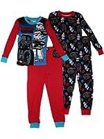 Lego Star Wars Cotton 2-Pack Glow in Dark Boys Pajamas