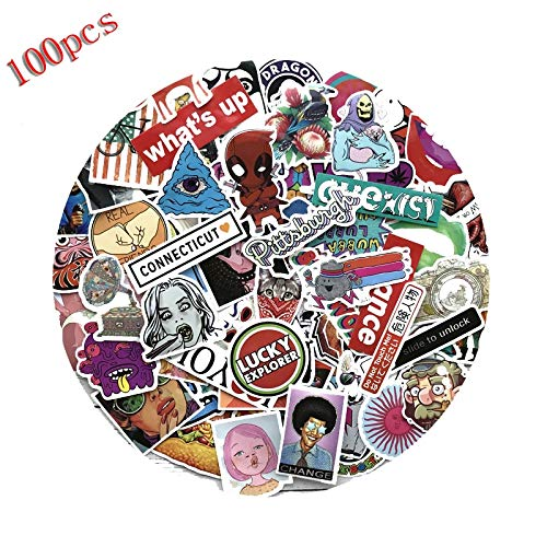 Price comparison product image Love^Store - Stickers - PCs Cartoon Graffiti Style Stickers for Car Bike Travel Luggage Cool Funny Sticker Bomb Decals 1 PCs