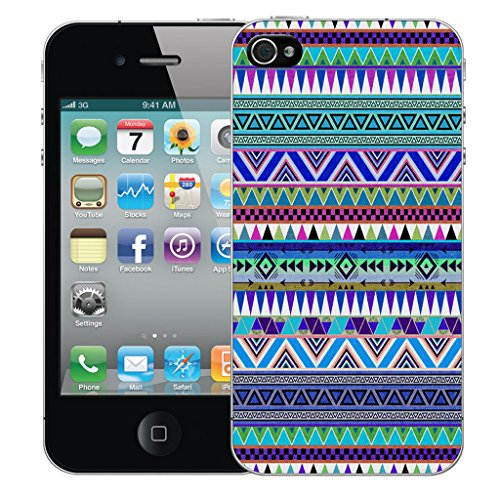 Mobile Case Mate iPhone 4 Silicone Coque couverture case cover Pare-chocs + STYLET - Mandala pattern (SILICON)