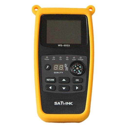 Buscador de satélites Digital Satlink WS-6933 HD DVB-S para Acampada + Aparato de medición EUDVB-S2 8PSK Sat: Amazon.es: Electrónica