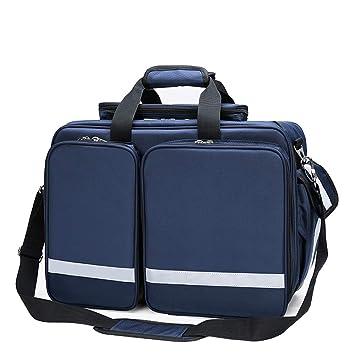 Uioy Erste-Hilfe-Kit ambulant verpackt Gro/ßes Mehrzweck-Erste-Hilfe-Kit Color : Blue Tragbare Arzttasche