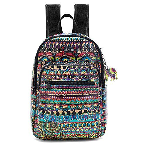 Sakroots Artist Circle Mini Backpack, Radiant One World, One Size