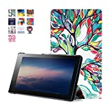 Lenovo Tab 3 Essential Case, Pasonomi Ultra Slim Lightweight PU Leather Folio Case Stand Cover for 7
