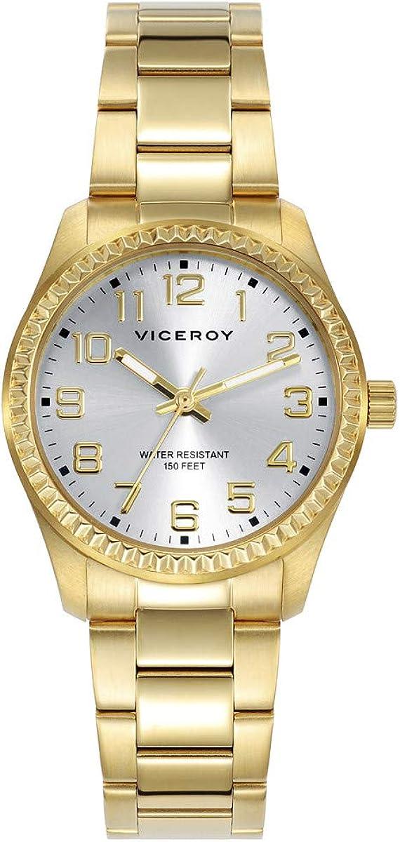 VICEROY - Reloj Acero IP Dorado Brazalete Sra Viceroy - 40860-27