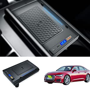 Kucok Car Wireless Charger Mount fit for Audi A6 2019-2021 ...