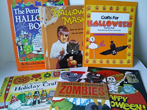 Halloween Activity Book Set - Halloween Activities Book Set: Crafts for Halloween; Gorgeously Gruesome Zombies; Halloween Masks;the Penny Whistle Halloween Book; Holiday Crafts
