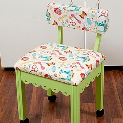 Brilliant Arrow Sewing Chair White Riley Blake Fabric On Green 7014W Theyellowbook Wood Chair Design Ideas Theyellowbookinfo
