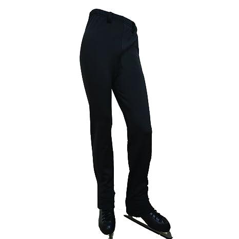 1e5e4cd0dcf3b Amazon.com: UniqGarb Boy Ice Figure Skating Pants UM17 Men Black ...