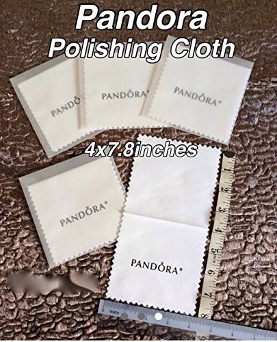 Pandora Silver Jewelry & Charms Polishing Cloth