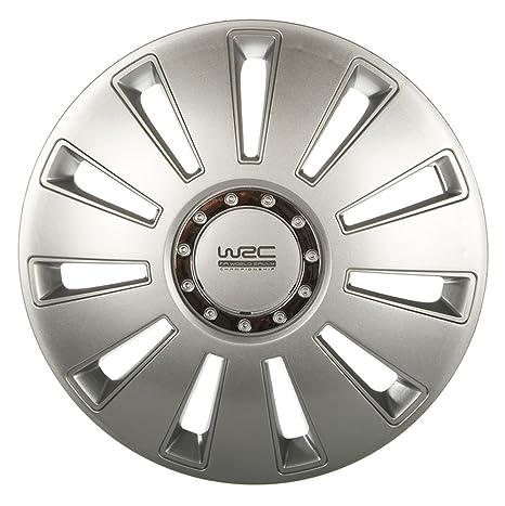 "WRC 007476 - Tapacubos (16"", 4 unidades), color gris"