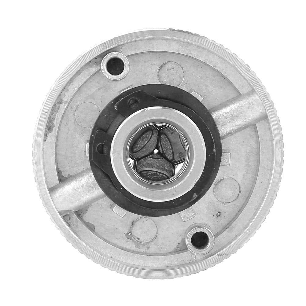 Z011 Accesorio de Abrazadera de Mandril de 3 mordazas de aleaci/ón de Zinc para Mini tornos de Metal Qiterr Portabrocas