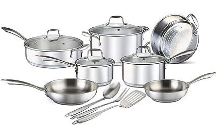 pots and pans set online