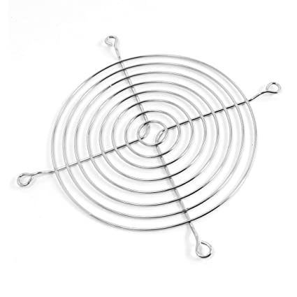 Cooling Fan Metal Wire Finger Guard Grill For 110mm Dc Computer Case