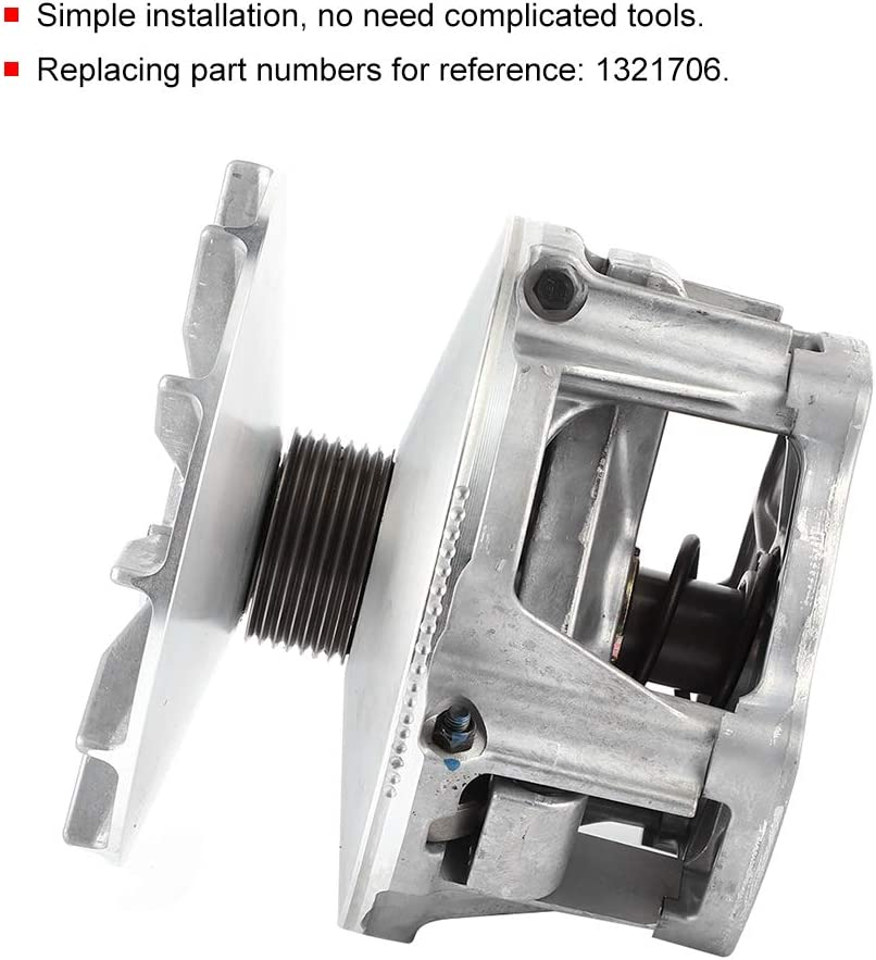 Replaces OE Number 1321706 Complete EBS Primary Drive Clutch Assembly Replacement Compatible with Polaris Sportsman 500 1998‑2005